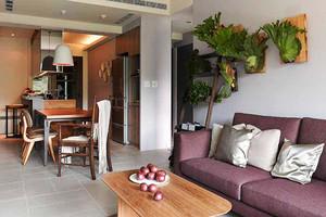 70平米宜家风格精装一居室室内装修效果图