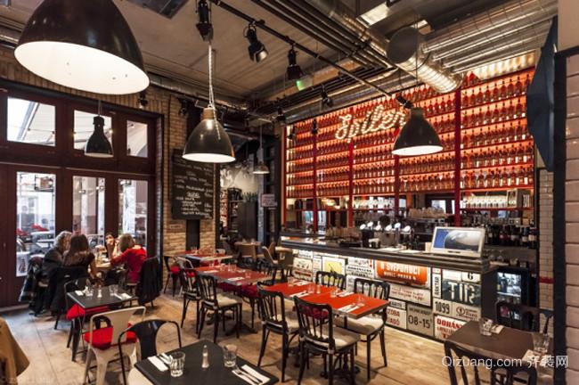 68平米现代简约风格咖啡厅设计装修效果图赏析