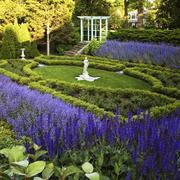 美式风格豪华别墅花园设计装修效果图赏析