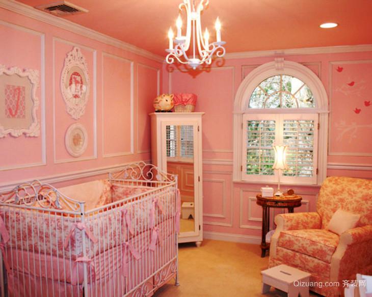 简欧风格温馨可爱婴儿房装修效果图赏析