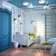 地中海风格简约时尚儿童房装修效果图赏析