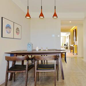 简约中式风格两室两厅简装室内装修效果图赏析