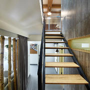 现代风格简约楼梯装修效果图赏析