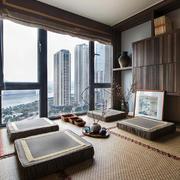 16平米日式风格榻榻米卧室装修效果图赏析