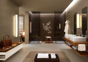 现代风格简约精装卫生间装修效果图大全