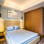 宜家风格简约卧室衣柜设计装修效果图赏析