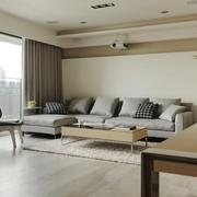 宜家风格简约整洁客厅装修效果图赏析
