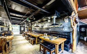 120平米时尚混搭风格餐厅设计装修效果图赏析