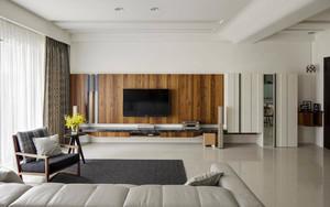 96平米都市简约风格两室两厅室内装修效果图