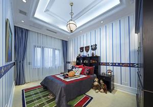 现代美式风格大户型精致儿童房装修效果图赏析