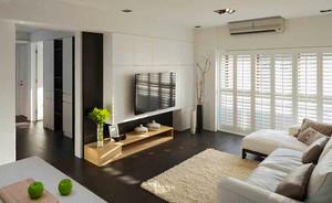 80平米简约风格温馨简约两室两厅室内装修效果图