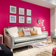 简约风格小户型绚丽客厅装修效果图赏析