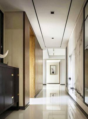 140平米简约中式雅韵大户型室内装修效果图