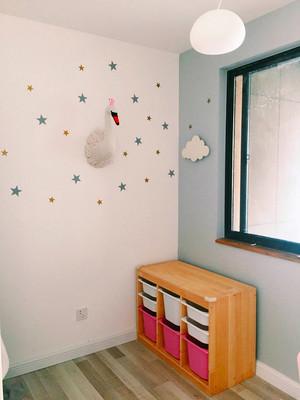 简约风格大户型室内儿童房墙纸装修效果图