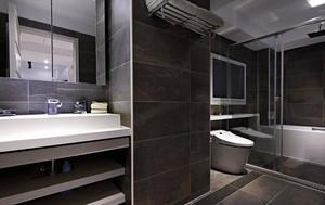 60平米现代风格冷色调一居室小户型装修效果图赏析