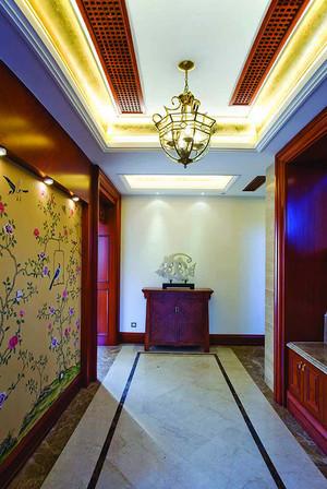 280平米中式风格别墅室内装修效果图赏析