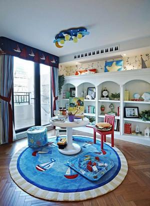 地中海风格精美儿童房设计装修效果图赏析
