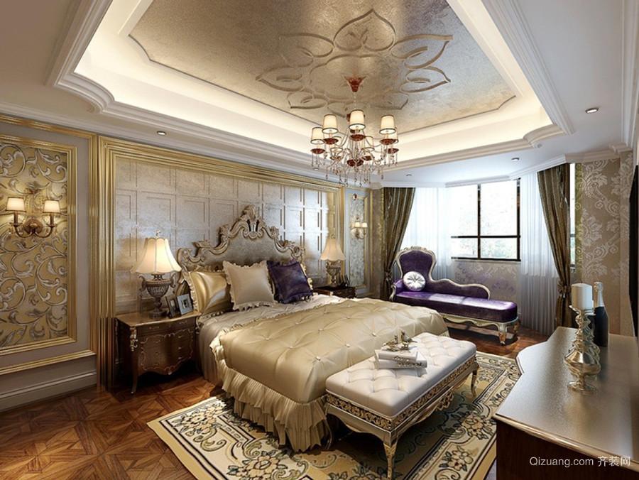 法式风格别墅室内奢华卧室装修效果图赏析