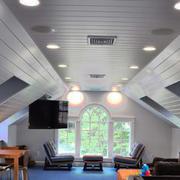 现代美式风格阁楼集成吊顶装修效果图