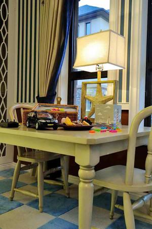 280平米美式风格精装别墅室内装修效果图赏析