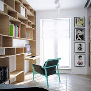 现代风格简约书房设计装修效果图赏析