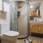 6平米现代风格卫生间淋浴房设计装修效果图