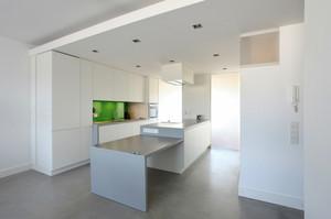 现代风格纯白简约整体厨房装修效果图赏析