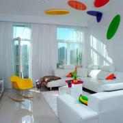 现代简约风格时尚个性客厅装修效果图赏析