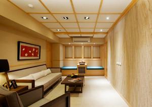 82平米现代风格原木风两室两厅装修效果图