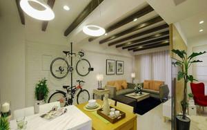 89平米宜家风格三室两厅室内装修效果图赏析