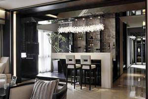 后现代风格大户型家装吧台设计装修效果图