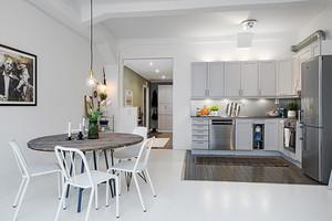65平米北欧风格自然简约一居室装修效果图案例