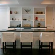 现代简约美式风格精致餐厅装修效果图赏析