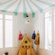 北欧风格简约时尚创意儿童房装修效果图