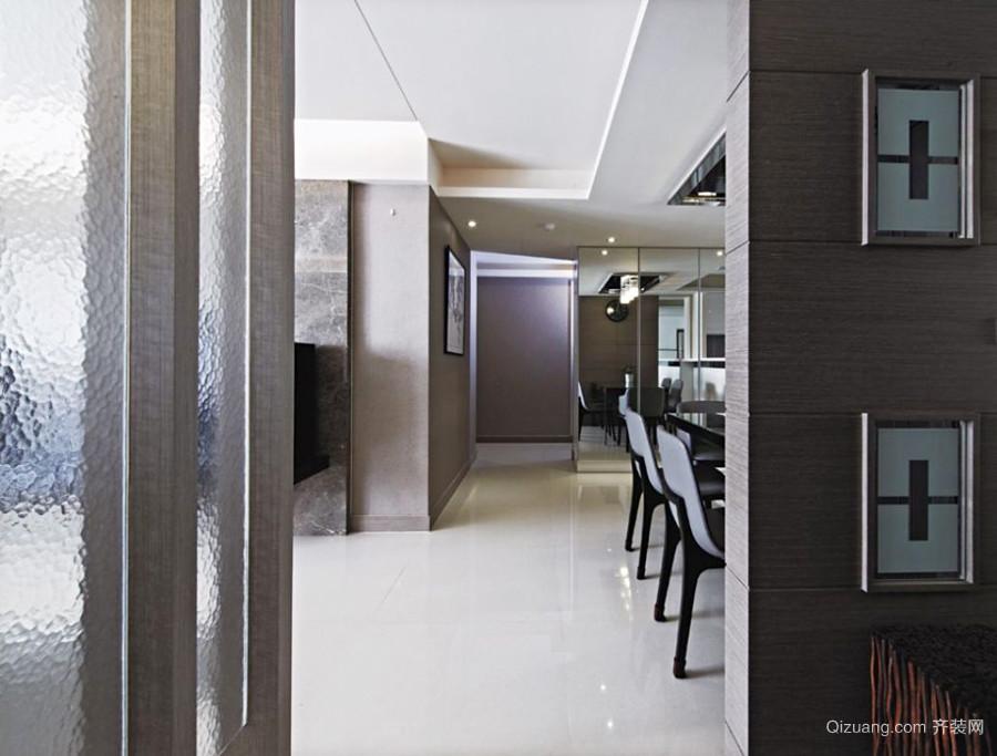 现代风格大户型室内过道设计装修效果图赏析