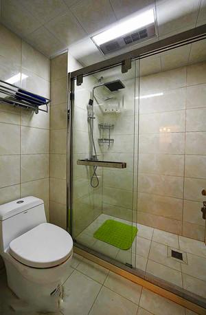 129平米欧式风格精装两室两厅室内装修效果图赏析
