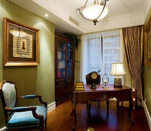 古典欧式风格大户型书房设计装修效果图赏析