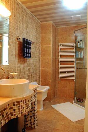 亲近自然欧式田园风格两室两厅室内装修效果图赏析
