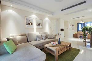 93平米宜家风格简约三室两厅室内装修效果图赏析