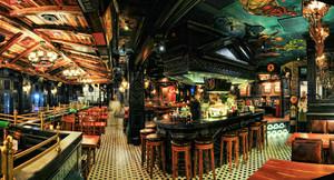 400美式混搭风格餐厅装修效果图赏析