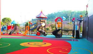 200平米现代风格幼儿园游乐场装修效果图赏析