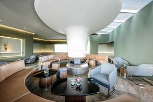 160平米现代风格文艺咖啡厅装修效果图赏析