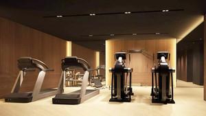 后现代风格独立单间健身房装修效果图