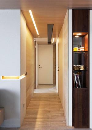 现代风格大户型室内简约过道装修效果图赏析