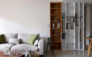 121平米宜家风格简约小复式楼装修效果图案例