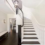 欧式风格简约精致别墅楼梯装修效果图赏析