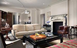 159平米美式风格商务复式楼室内装修效果图赏析