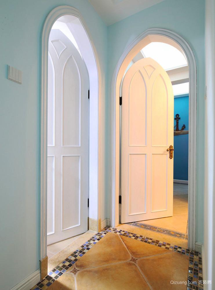 梦幻地中海风格精美别墅室内装修效果图赏析