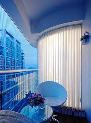 清新简约欧式风格精致两室两厅室内装修效果图
