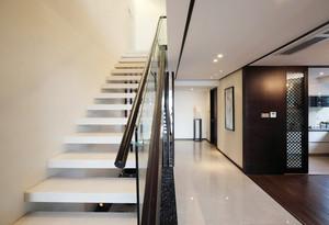 现代风格精致别墅楼梯装修效果图赏析